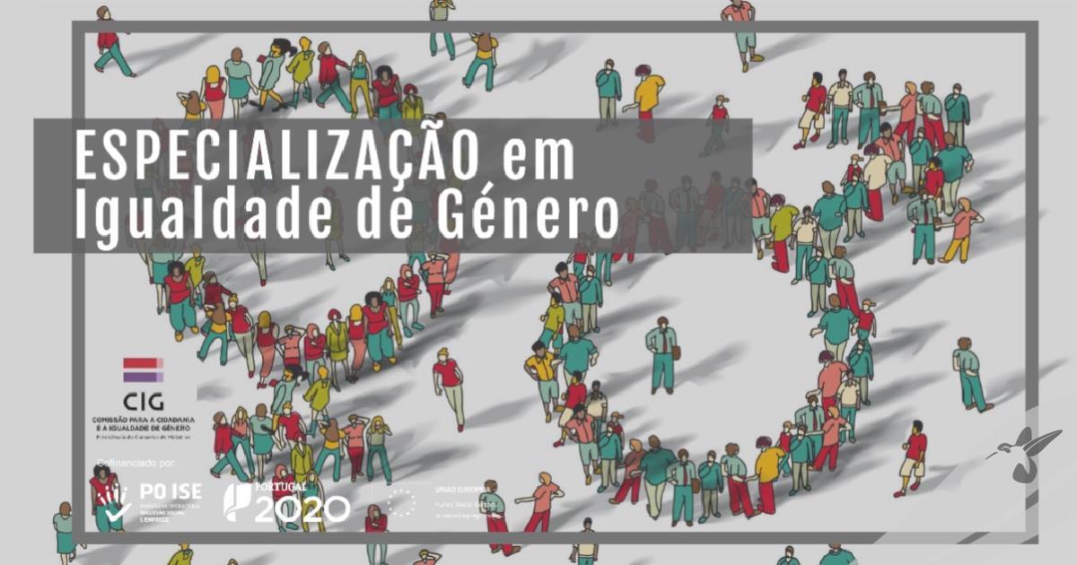 ESPECIALIZAÇÃO EM IGUALDADE DE GÉNERO